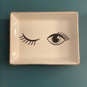 Eyelash Trinket Dish